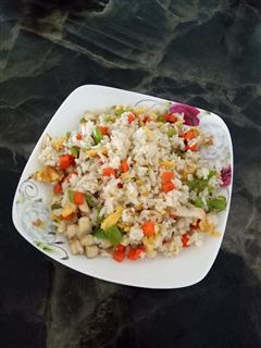 尖椒蛋炒饭