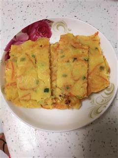 西葫芦胡萝卜煎饼