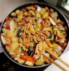红烧肉蔬菜大杂烩