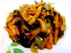 鱼香肉丝,既美又香的传统菜