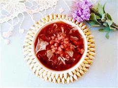 红豆薏仁银耳汤-美容祛湿