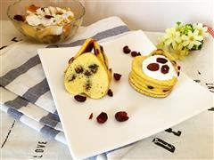 蔓越莓玉米鸡蛋饼
