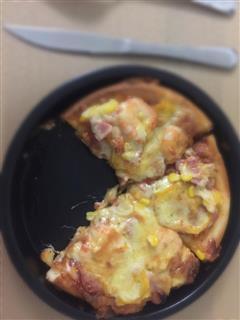 虾仁火腿披萨