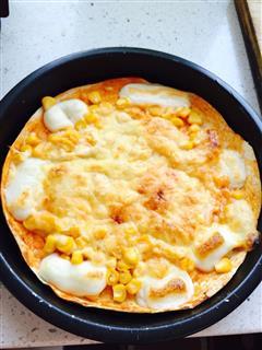 奶香玉米披萨
