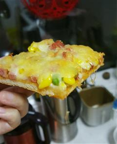 田园薄底脆披萨