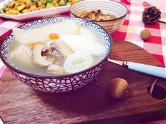 竹荪排骨汤