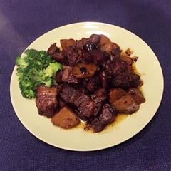 私家土豆红烧肉