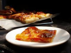 意式薄底香肠披萨