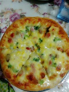 猪肉火腿披萨