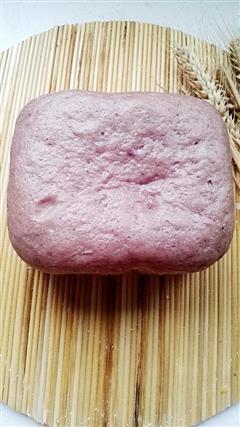 润唐馒头面包机自做紫薯馒头