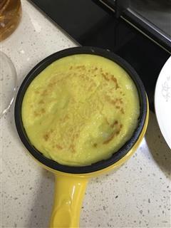 白面鸡蛋饼子