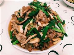 蒜苗豆豉回锅肉