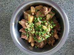 土豆豆腐炖排骨