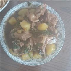 糖醋排骨土豆