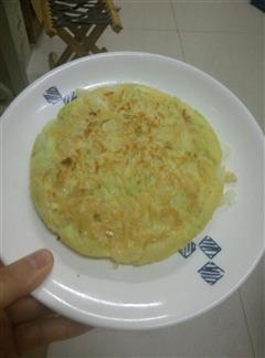白菜鸡蛋饼