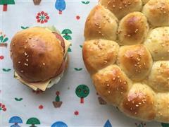 豆沙小面包、汉堡面包