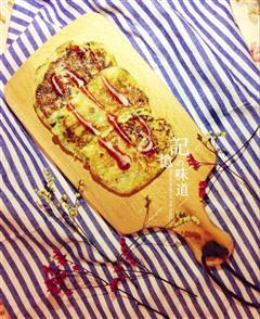 土豆泥蔬菜饼