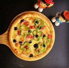 素菜什锦披萨