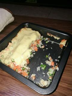 土豆泥焗饭