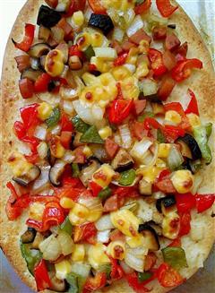 简易家庭披萨