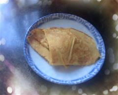 香蕉鸡蛋煎饼