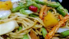 泡椒版蔬菜炒面