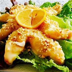 沙拉酱 软炸大虾