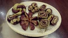 紫薯粉红薯馒头