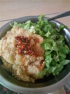土豆泥拌饭