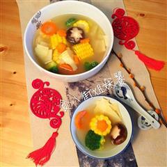 5-时蔬排骨汤