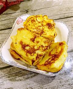 蜂蜜鸡蛋馒头片