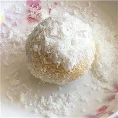 蛋挞液新吃法-蛋奶球