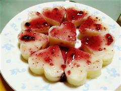 蓝莓土豆泥