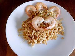 虾油咸鸭蛋炒饭