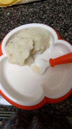 宝宝吃的土豆泥