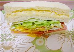 土豆泥火腿三明治
