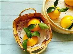 南瓜馒头-大橙子