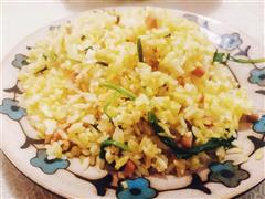 马兰头黄金蛋炒饭