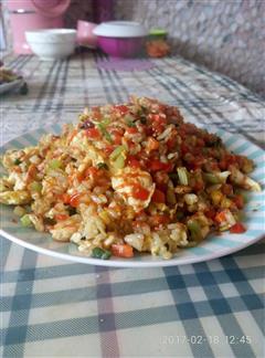 美味蛋炒饭-炒米饭