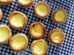 无淡奶油的蛋挞-减脂期可以吃的甜点