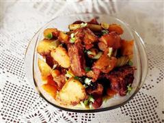 红烧排骨土豆豆角