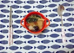快手-菜干排骨汤