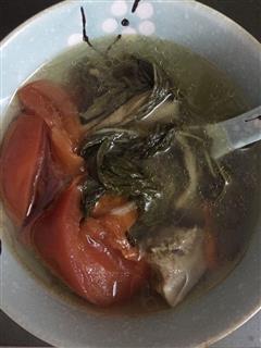 菜干排骨汤