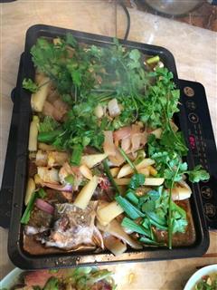 烤箱香辣烤鱼