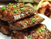 夏季儿童开胃菜品——醋溜带鱼片