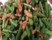 豆角炒肉最简易的家常做法