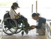 照顾残疾人