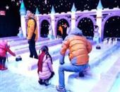 冰上掷石游戏