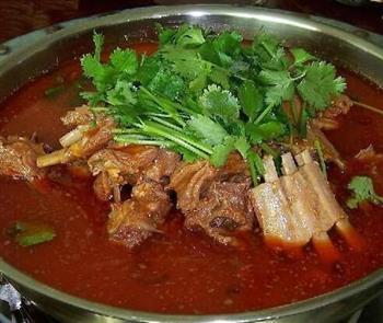 羊肉火锅健康吃