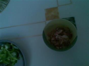 黑胡椒猪肉饭的做法图解1